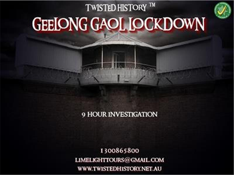 Geelong Gaol Lockdown Tour