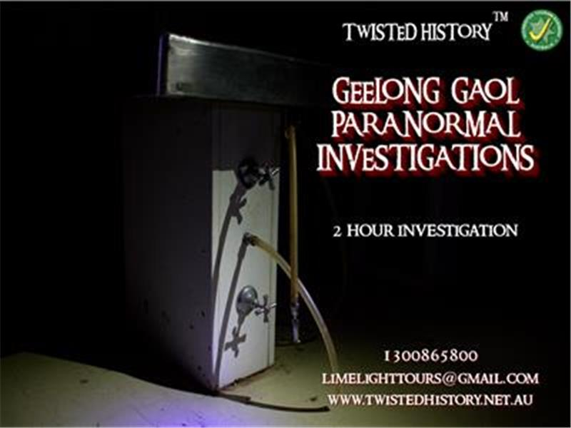 Geelong Gaol Paranormal Investigation Tour