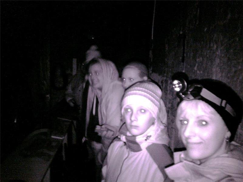 Family Ghost Hunt Lithgow Mine