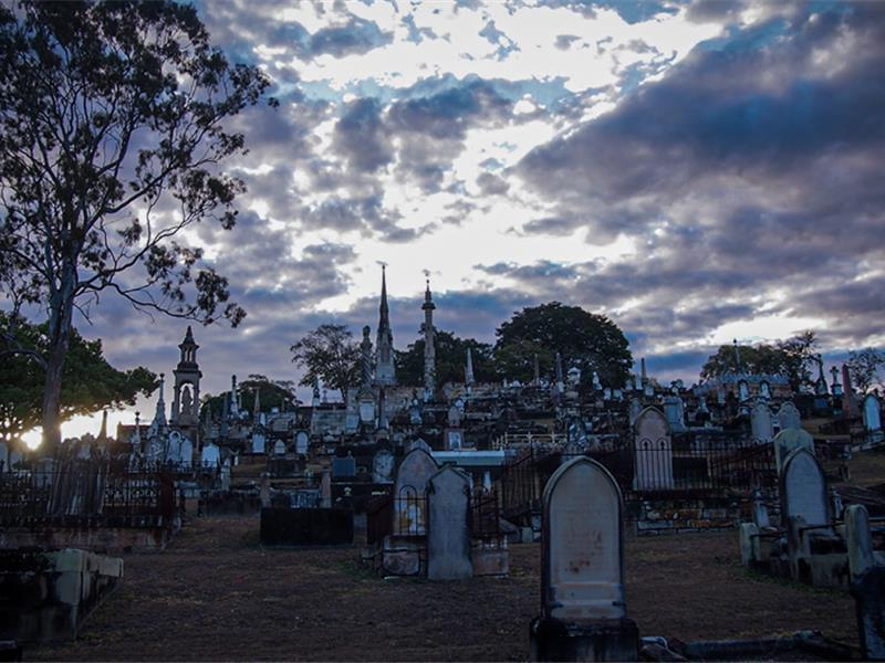 Toowong Cemetery Ghost Tour (The Other Side)