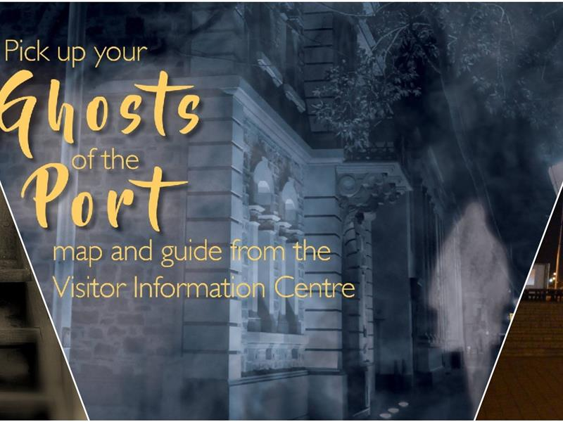 Ghosts of the Port: Self Guided Walking Tour