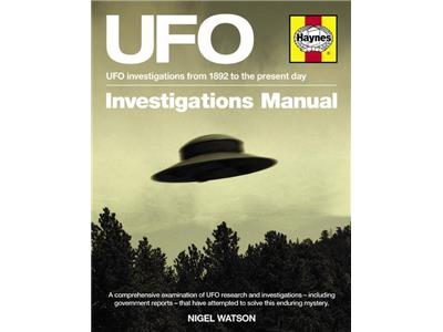 UFO Investigator's Manual Front cover